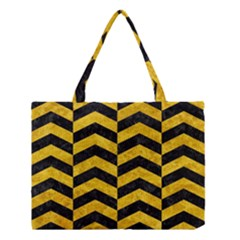 CHV2 BK-YL MARBLE Medium Tote Bag