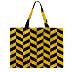 CHV1 BK-YL MARBLE Large Tote Bag