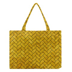 BRK2 BK-YL MARBLE (R) Medium Tote Bag