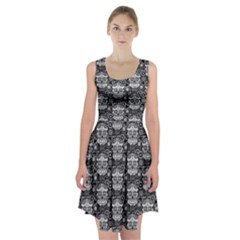 sugar skull Racerback Midi Dress