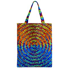 Background Color Game Pattern Zipper Classic Tote Bag