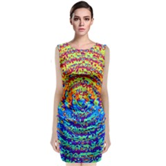 Background Color Game Pattern Classic Sleeveless Midi Dress