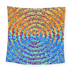 Background Color Game Pattern Square Tapestry (large)