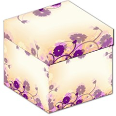 Background Floral Background Storage Stool 12