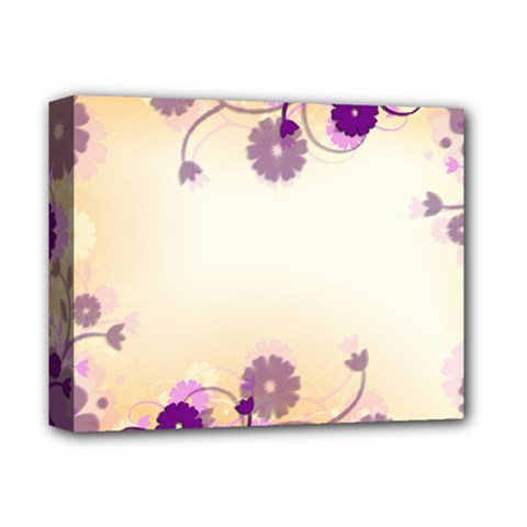 Background Floral Background Deluxe Canvas 14  X 11