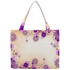 Background Floral Background Mini Tote Bag