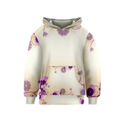 Background Floral Background Kids  Pullover Hoodie