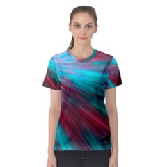 Background Texture Pattern Design Women s Sport Mesh Tee