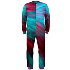Background Texture Pattern Design Onepiece Jumpsuit (men)