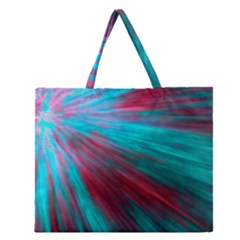Background Texture Pattern Design Zipper Large Tote Bag