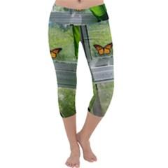 Butterfly #17 Capri Yoga Leggings