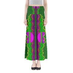 Magic Moon Landscape Maxi Skirts