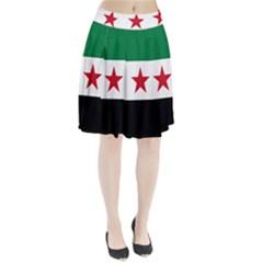 Flag of Syria Pleated Skirt