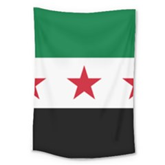 Flag Of Syria Large Tapestry