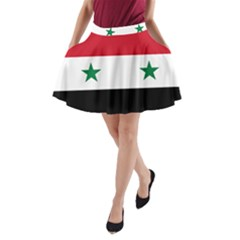 Flag of Syria A-Line Pocket Skirt