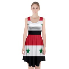 Flag of Syria Racerback Midi Dress