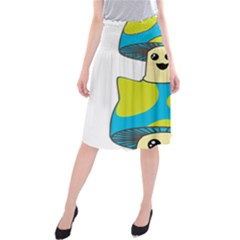 Meowshroom Midi Beach Skirt