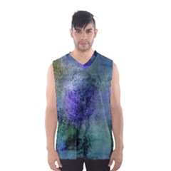 Background Texture Structure Men s Basketball Tank Top