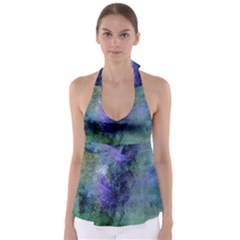 Background Texture Structure Babydoll Tankini Top