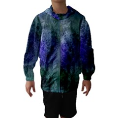 Background Texture Structure Hooded Wind Breaker (kids)