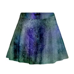 Background Texture Structure Mini Flare Skirt