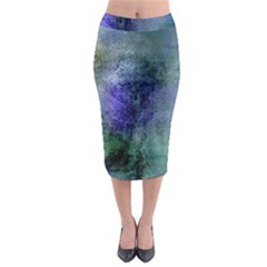 Background Texture Structure Midi Pencil Skirt