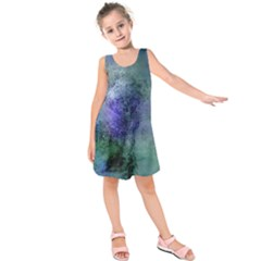 Background Texture Structure Kids  Sleeveless Dress