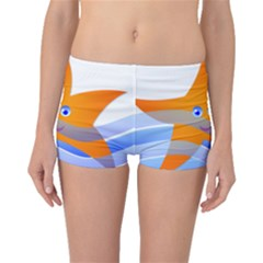 Beach Sea Sea Shell Swimming Boyleg Bikini Bottoms