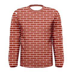 Brick Lake Dusia Texture Men s Long Sleeve Tee