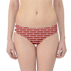 Brick Lake Dusia Texture Hipster Bikini Bottoms