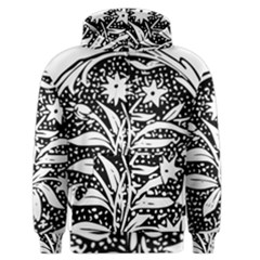 Decoration Pattern Design Flower Men s Zipper Hoodie