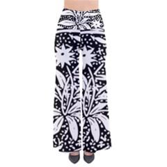 Decoration Pattern Design Flower Pants