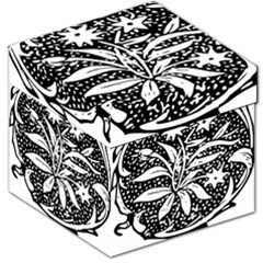 Decoration Pattern Design Flower Storage Stool 12