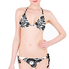 Decoration Pattern Design Flower Bikini Set