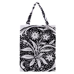 Decoration Pattern Design Flower Classic Tote Bag