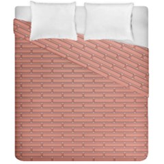Brick Lake Dusia Wall Duvet Cover Double Side (california King Size)