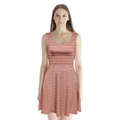 Brick Lake Dusia Wall Split Back Mini Dress