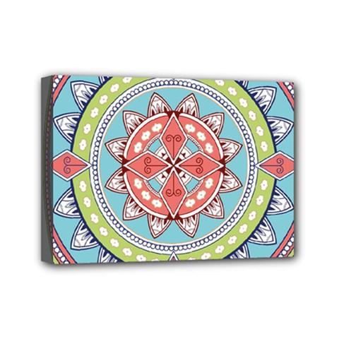 Drawing Mandala Art Mini Canvas 7  X 5