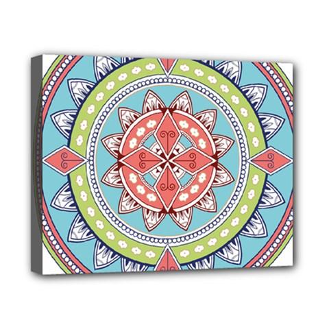 Drawing Mandala Art Canvas 10  X 8
