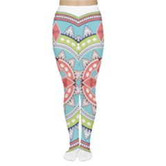 Drawing Mandala Art Women s Tights