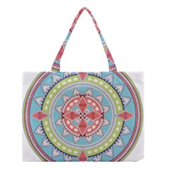 Drawing Mandala Art Medium Tote Bag