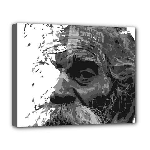 Grandfather Old Man Brush Design Deluxe Canvas 20  X 16