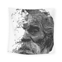 Grandfather Old Man Brush Design Square Tapestry (small)
