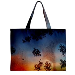 Hardest Frost Winter Cold Frozen Zipper Mini Tote Bag