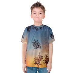 Hardest Frost Winter Cold Frozen Kids  Cotton Tee