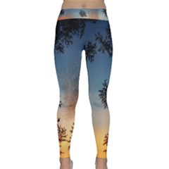 Hardest Frost Winter Cold Frozen Classic Yoga Leggings