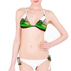 Low Poly 3d Render Polygon Bikini Set