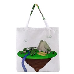 Low Poly 3d Render Polygon Grocery Tote Bag