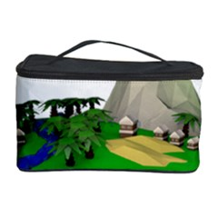 Low Poly 3d Render Polygon Cosmetic Storage Case
