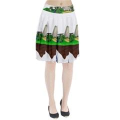 Low Poly 3d Render Polygon Pleated Skirt